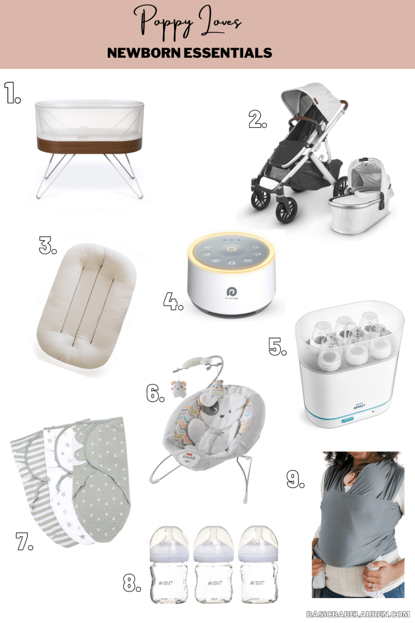 Poppy Loves: 9 Must Have Newborn Essentials