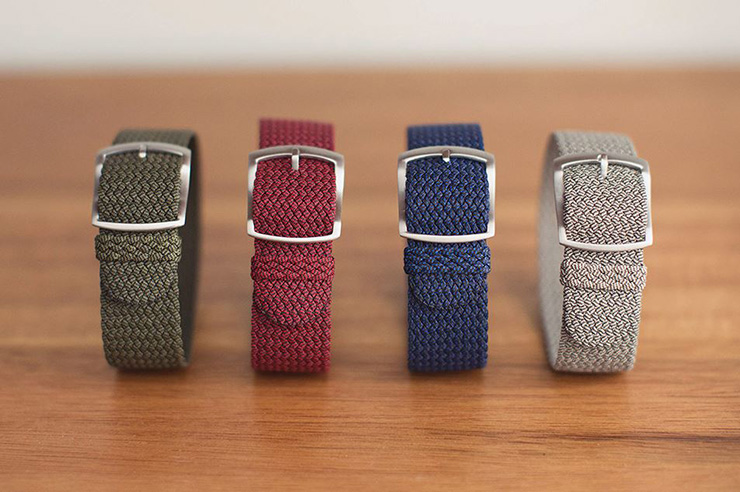 Crown & Buckle Perlon Watch Straps