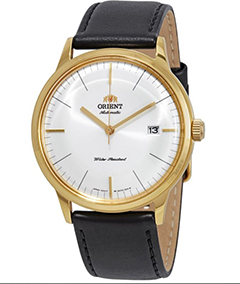 Orient Bambino Gen 2 Version 3 - White Dial - Gold Case - FAC0000BW0