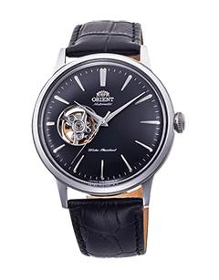 Orient Bambino Open Heart - Black dial - Stainless Steel Case - RA-AG0004B10A