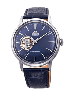 Orient Bambino Open Heart - Blue dial - Stainless Steel Case - RA-AG0005L10A