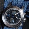 Graphic NATO strap on Apollon Chronograph