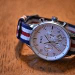 Burei watch with Barton Bands NATO Strap