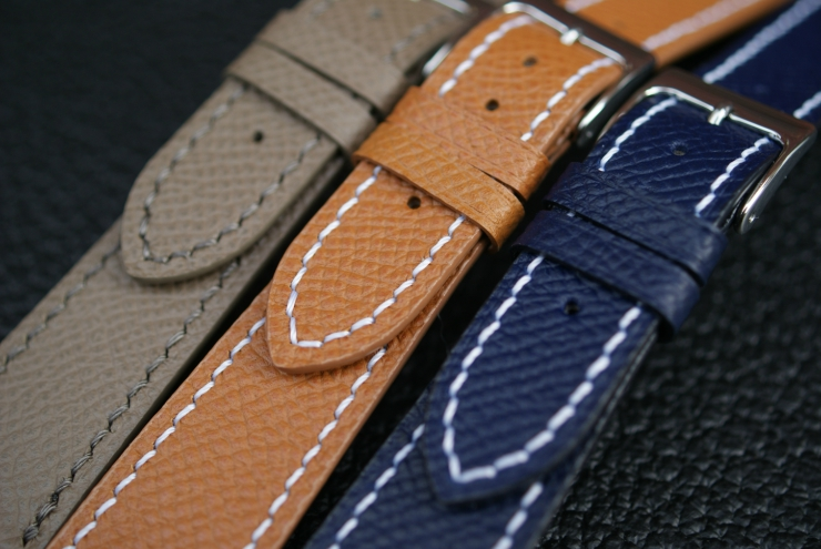 B&R Bands Textured Calf Strap Group Shot
