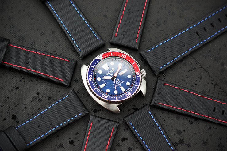 BandRBands Waterproof Watch Bands on Seiko Diver