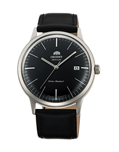 Orient Bambino Gen 2 Version 3 - Jet Black dial with stainless steel case - Model number FAC0000DB0