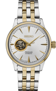 Seiko Presage Cocktail Time - Two Tone Bracelet - Open Heart - SSA358