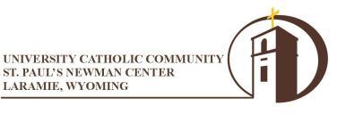 St Paul Newman's Center Logo