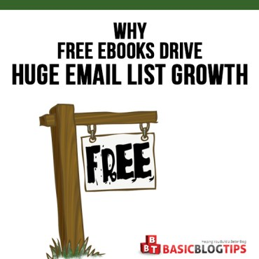 Why Free eBooks Drive Huge Email List Growth