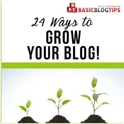 24 Ways to Grow Your Blog