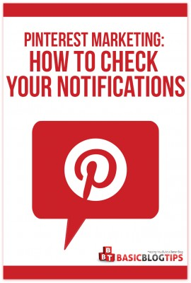 Pinterest Marketing How To Check Your Notifications on Pinterest