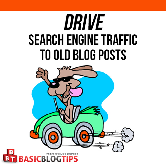 Driving Search Traffic to Old Blog Posts