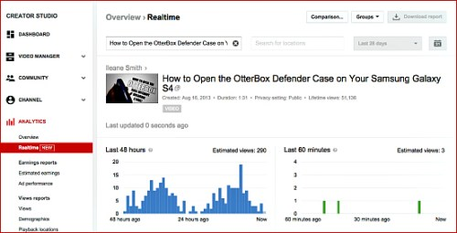 How To Watch Realtime YouTube Video Analytics