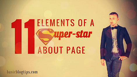 11 Elements of a Super-Star About Page