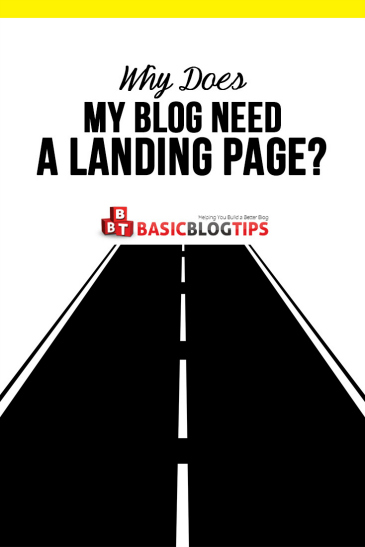 Why Does my Blog Need a LandingPage