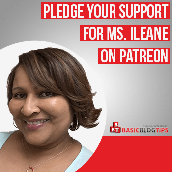 Become a Patron of Ms. Ileane on Patreon