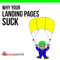 Why Your Blog's Landing Pages Suck (and How to Fix Them)