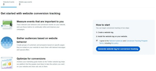 Track Twitter Conversions on Your Website
