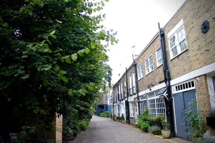 Mews of Kensington, London