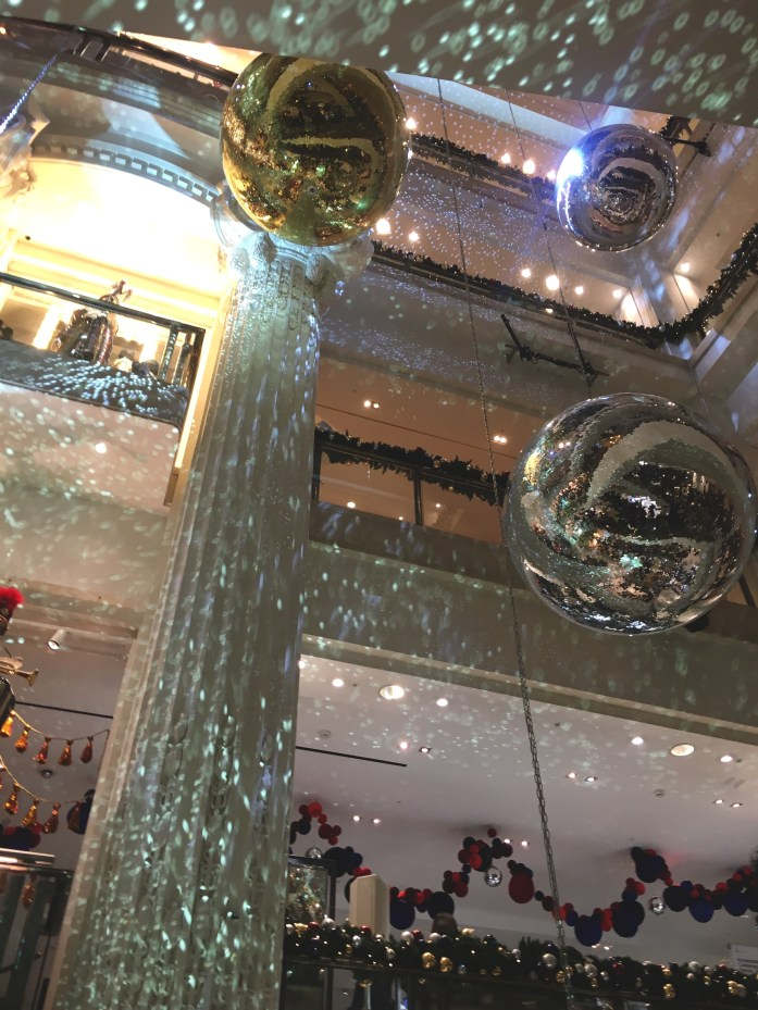 Selfridges at Christmas