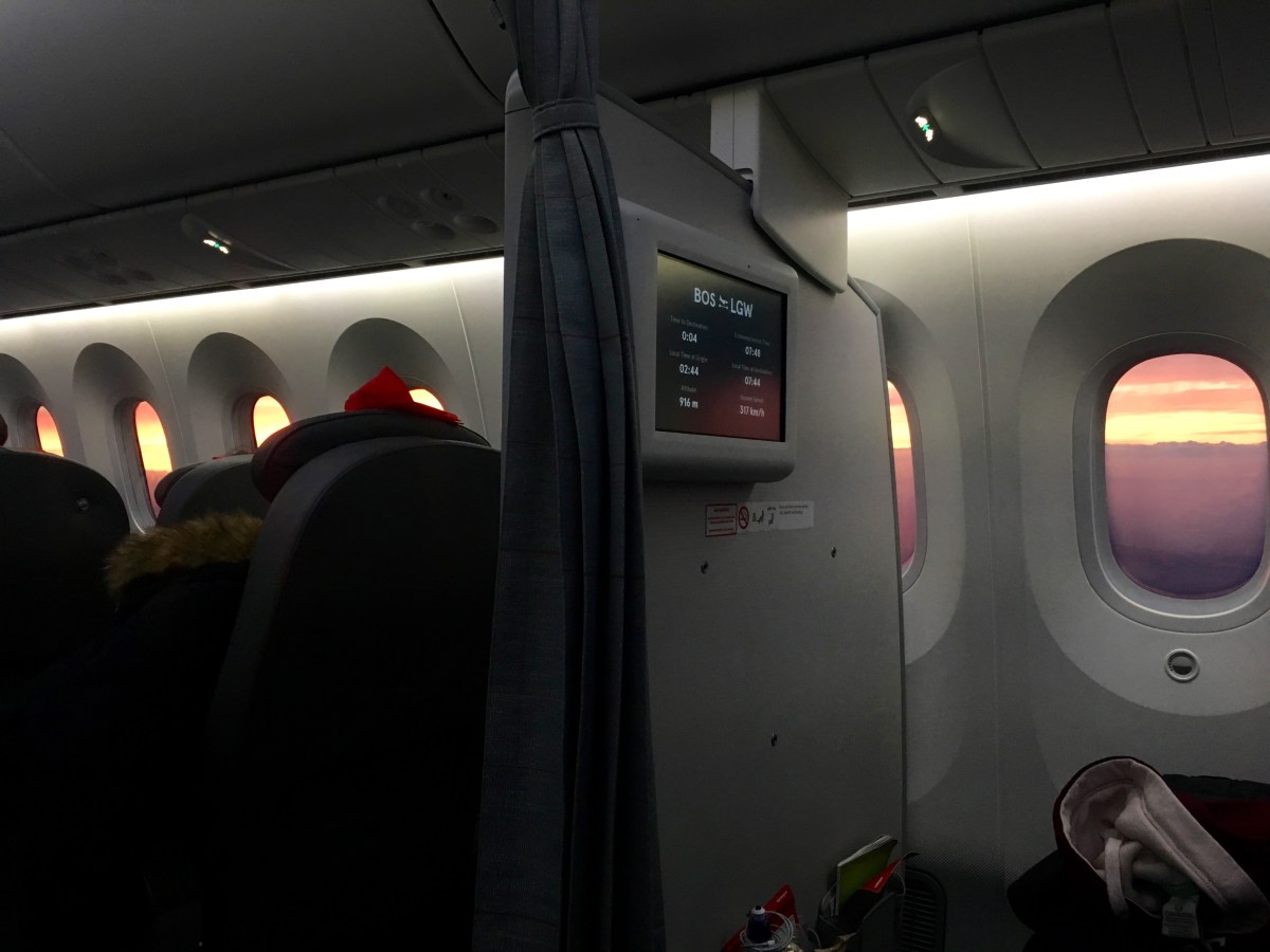 Norwegian Air Transatlantic Flight Review