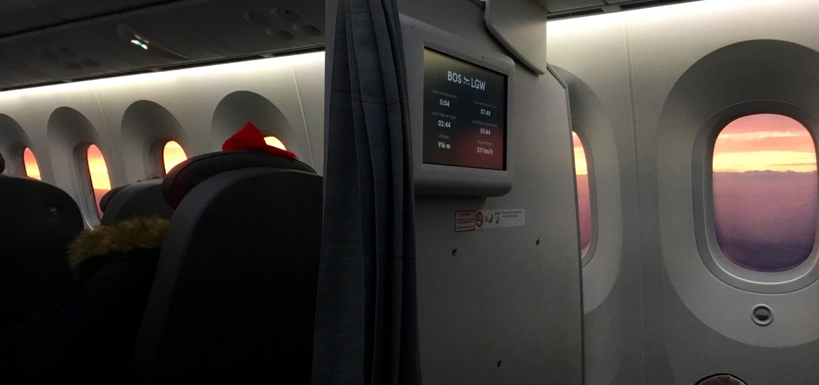 Norwegian Transatlantic Flight Review