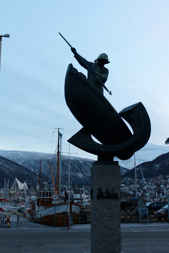 FIsherman Statue in Tromsø