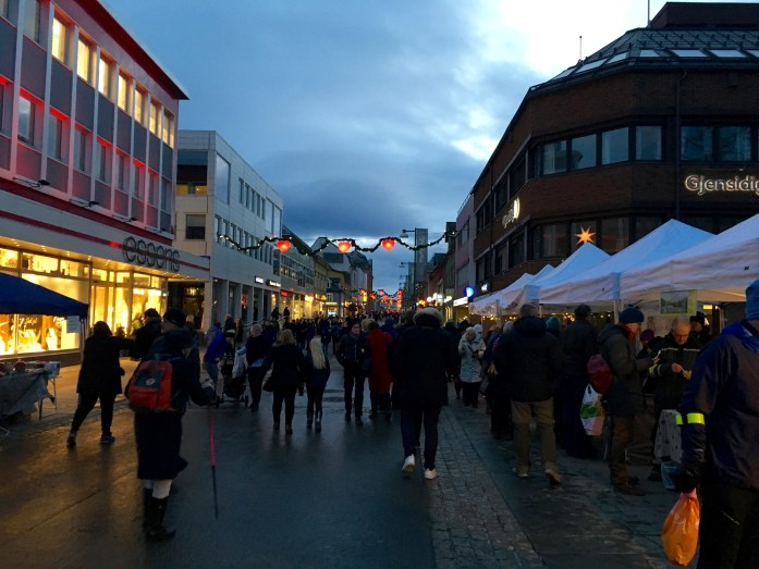 bondens market tromso city center