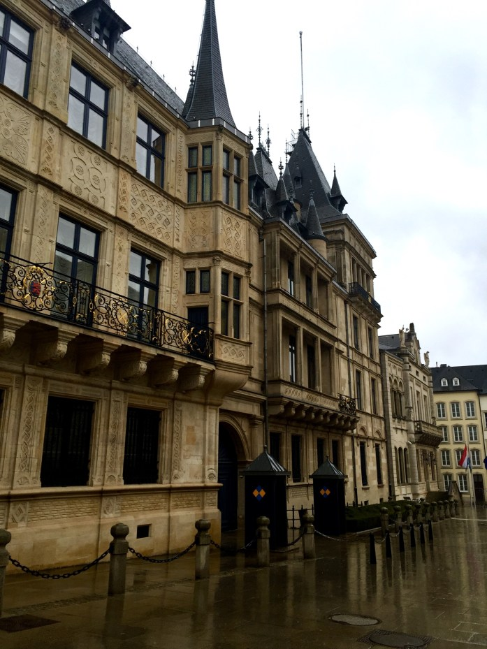 Palais Grand-Ducal in Luxembourg