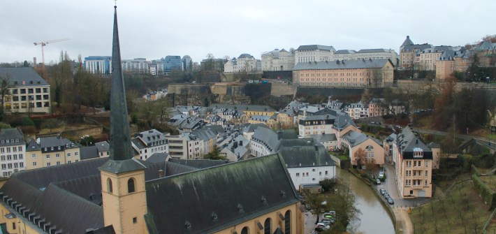 Luxembourg City!