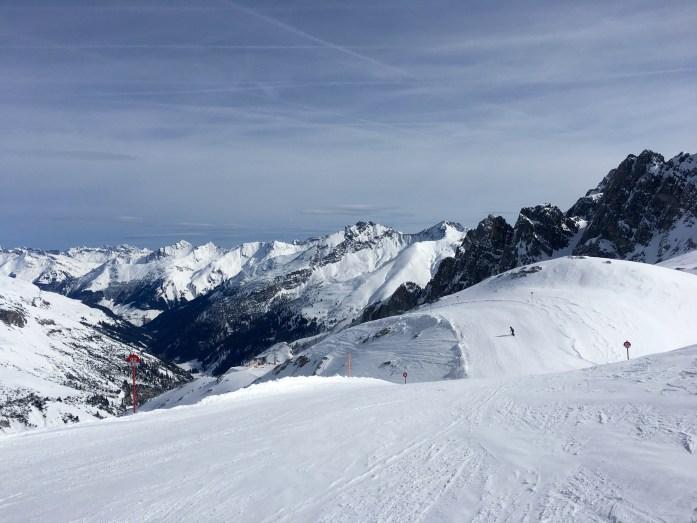 Andrew skiing Valluga