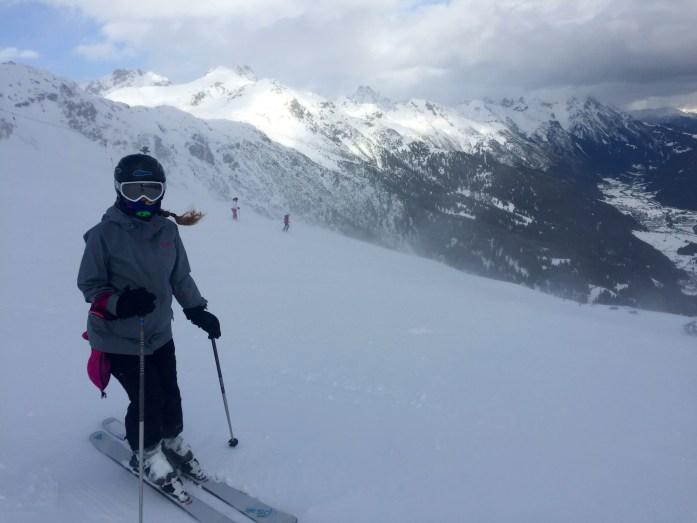 Skiing at St Anton