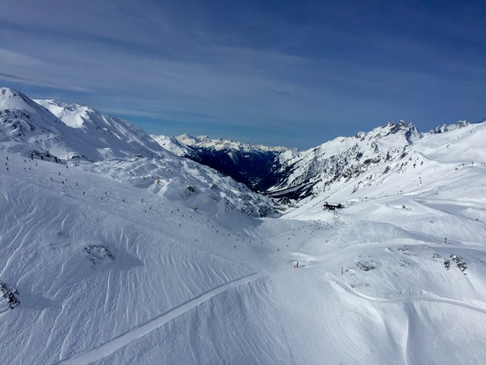 skiing at St. Anton
