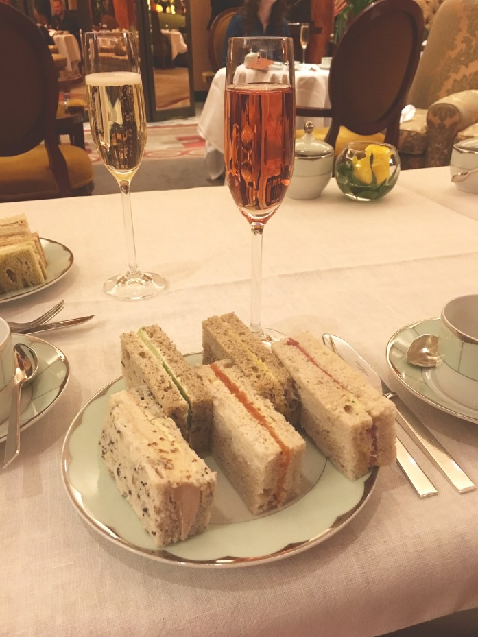 Gluten free afternoon tea at The Dorchester in London