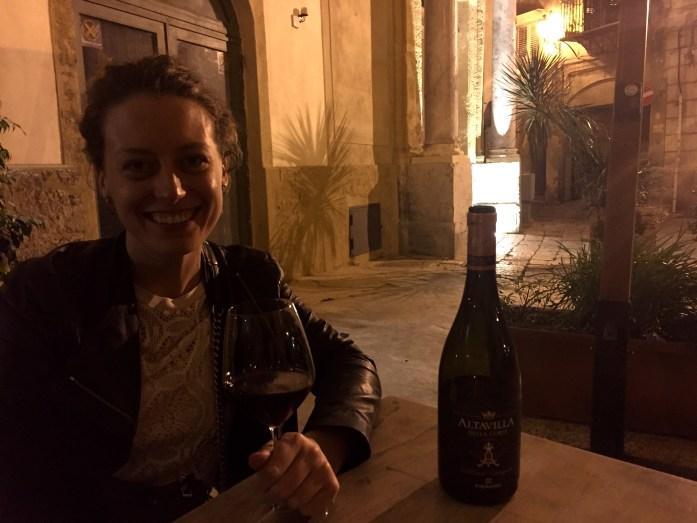 Enjoy some Sicilian wine in Palermo