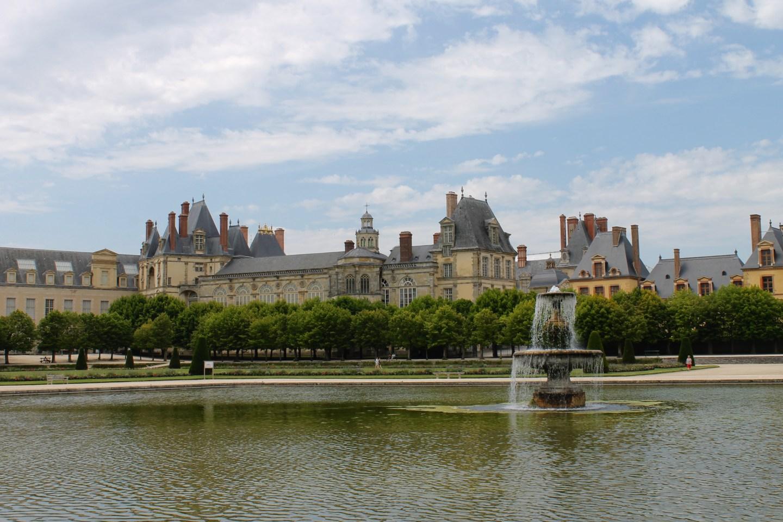 Fontainebleau and Samois-sur-Seine, France