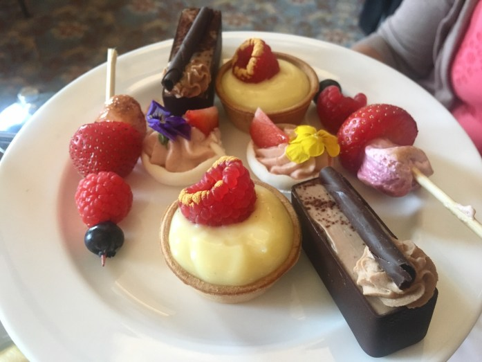 Gluten free afternoon tea in London at the Library Lounge