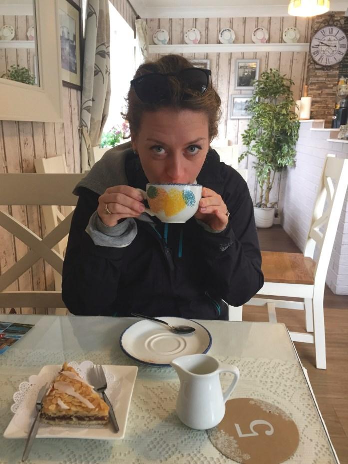 Conwy Castle Tea Room, Wales