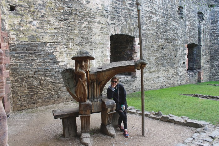 Hanging out at Conwy Castle, Wales