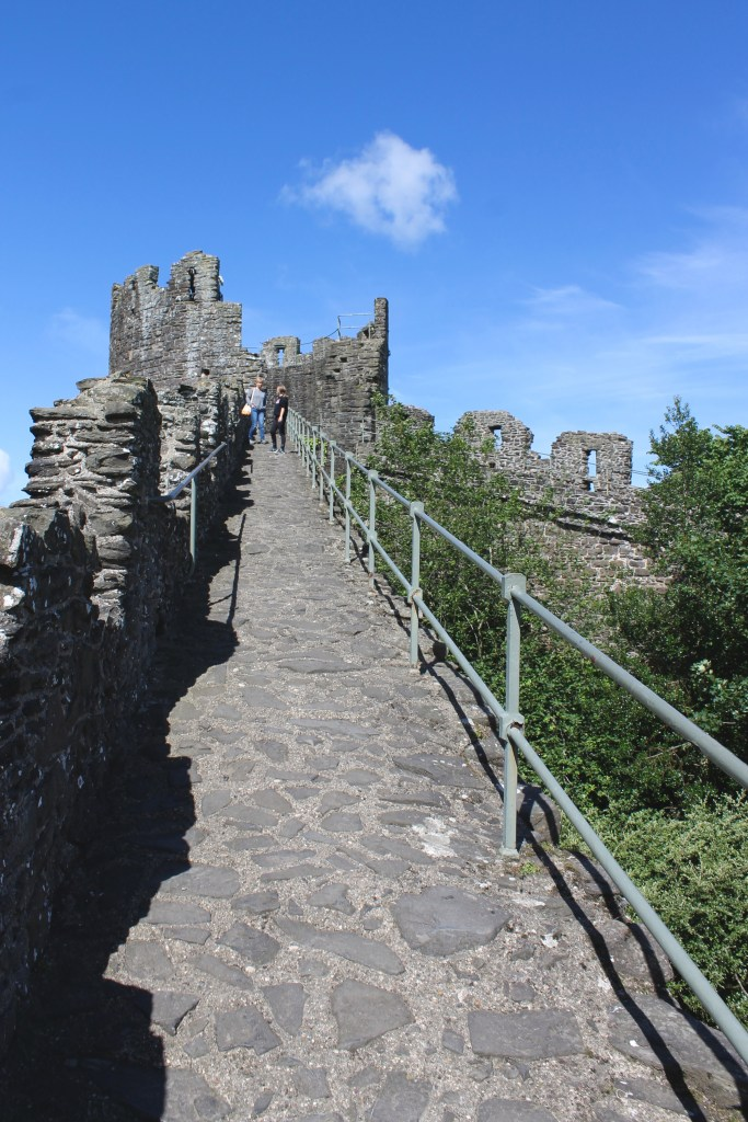 Town wall at Conwy Castle, Wales