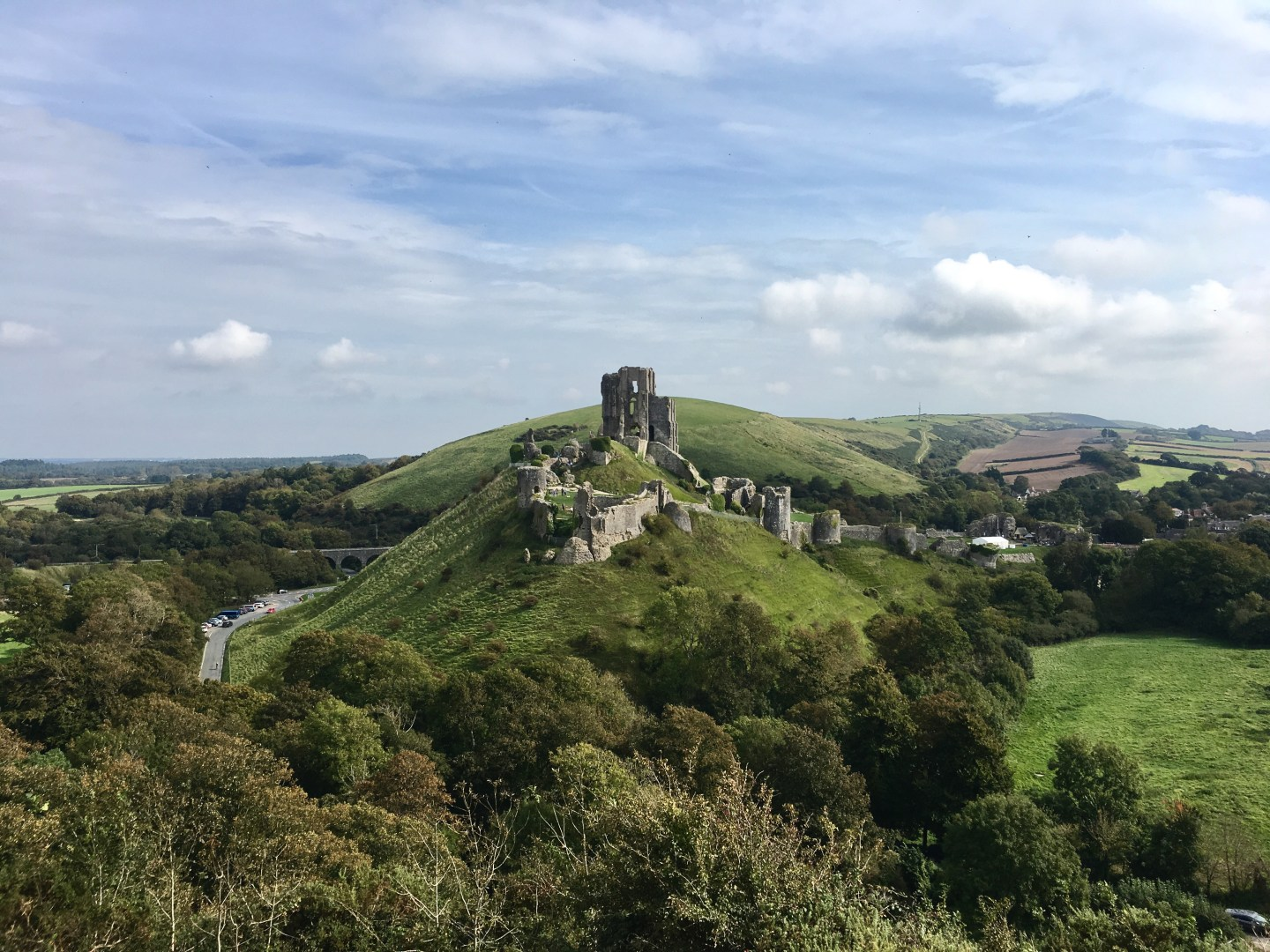 Corfe Castle Day Hike