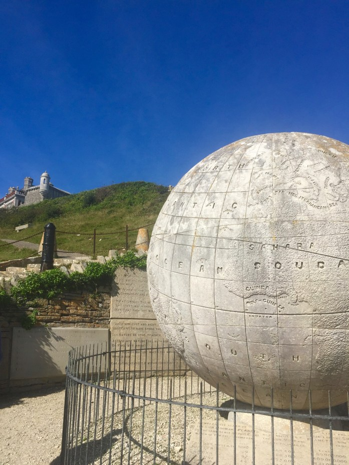 The Great Globe, Swanage, South West Coast Path