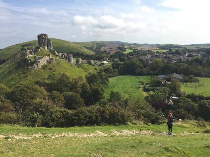 Hiking near Corfe Castle