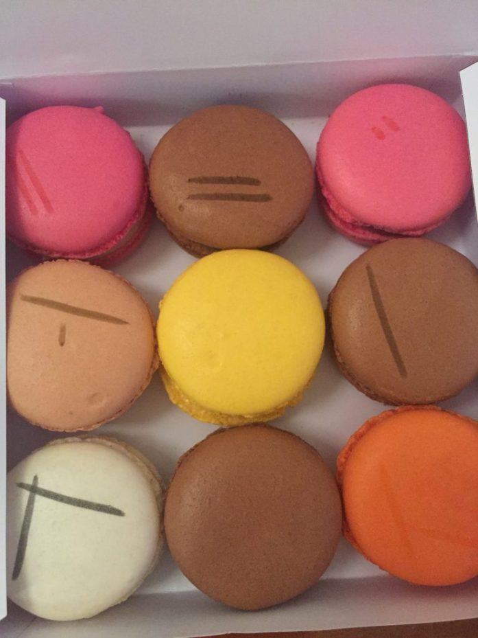 Macarons in Reims