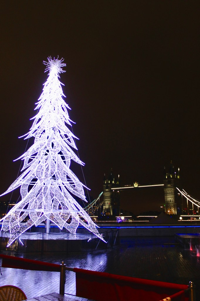 Tower Bridge at Christmastime