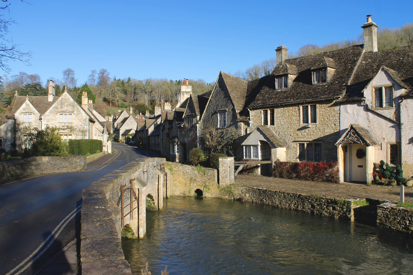 Christmastime in the Cotswolds