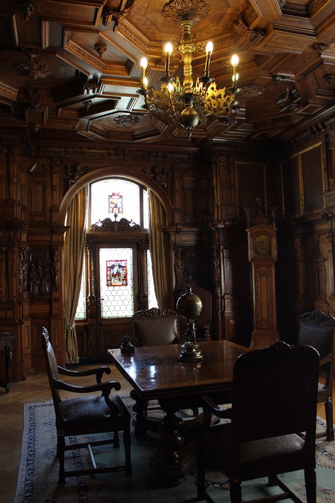 More woodwork in Peles Castle