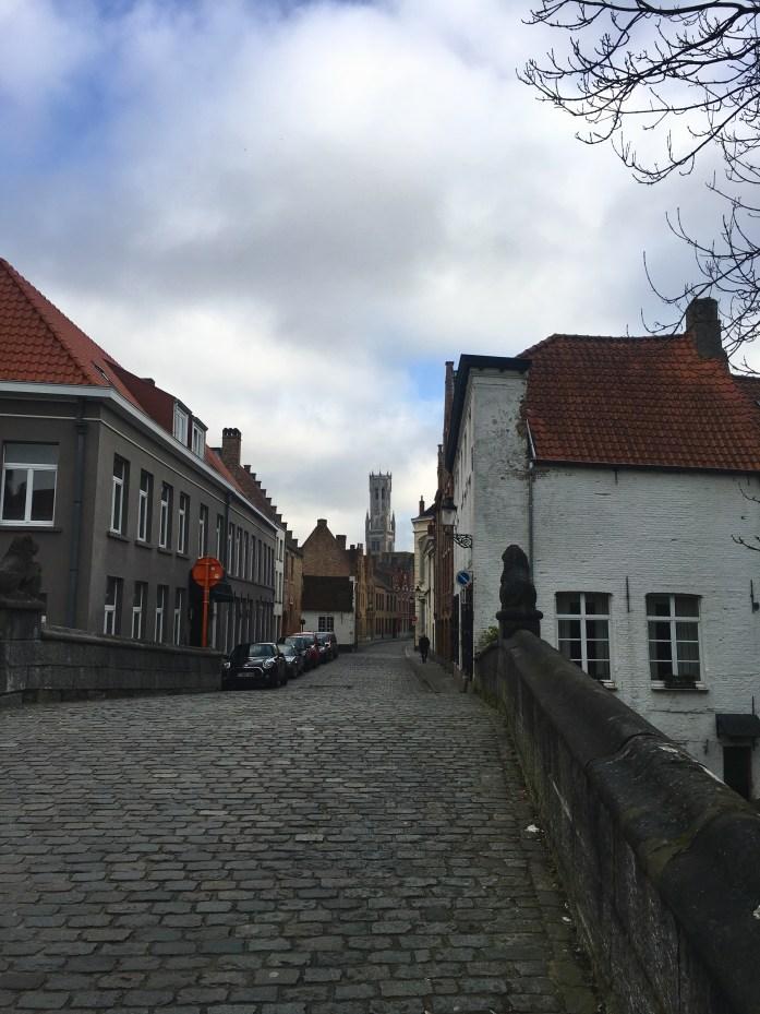 Airbnb view Bruges