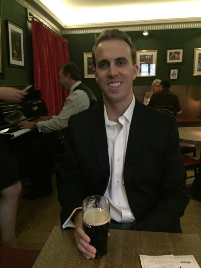 Andrew at London's Best Bars