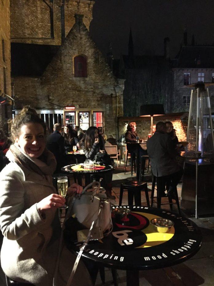 Belgian Sparkling wine at 2be